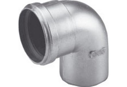 Aluminium rookgasafvoer