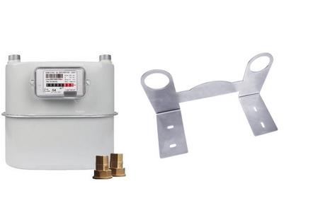 Gasmeter koppelingen/beugel