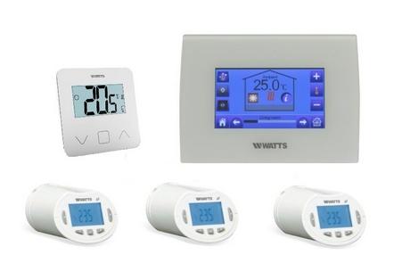 Vloerverwarming-en Zoneregelapparatuur