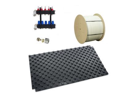 Vloerverwarmingsmaterialen